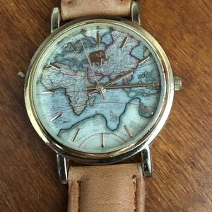 Francesca's World Map Elephant Watch